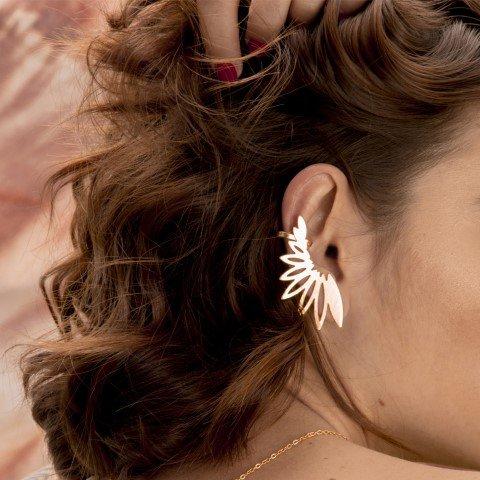 ear cuff márgara solitario modelo