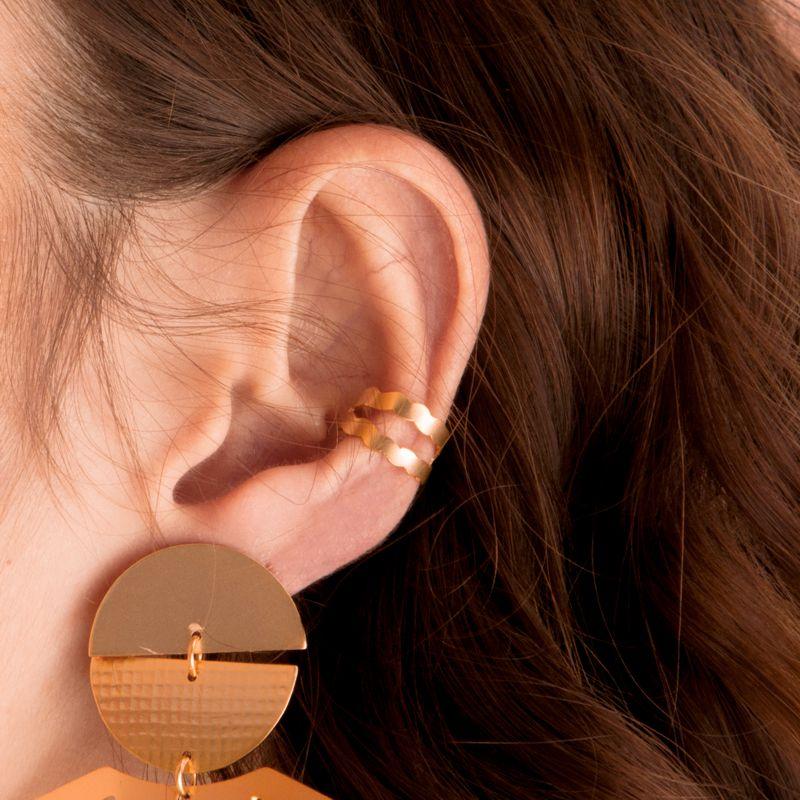 ear cuff bolero dorado